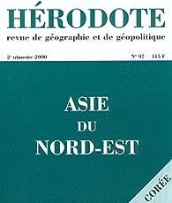 Hérodote, n° 097. L'Asie du Nord-est par Revue Hérodote