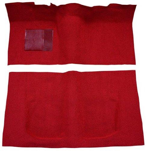 laxie Carpet Replacement Kit, 2 Door Hardtop Auto with Flat Front (558-Charcoal 80/20 Loop) (Ford Galaxie Carpet 2 Door)