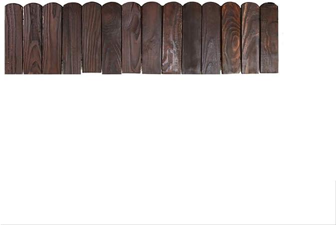 LJFYMX Vallas de Madera Jardin Valla de jardín/jardín de pilotes de Madera Anti-corrosión Piscina de balcón Valla pequeña Valla/Cerca de jardín de casa Decorativa Vallas para Jardin: Amazon.es: Hogar