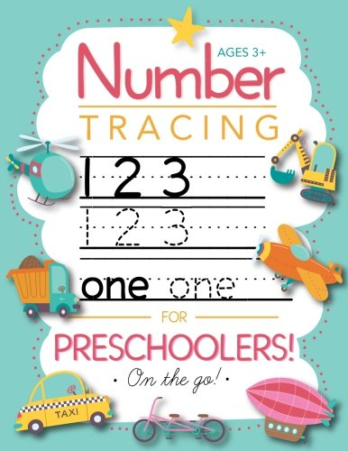 Halloween Writing Paper For Kindergarten (Number Tracing Book for Preschoolers and Kids Ages 3-5: Trace Numbers Practice Workbook for Pre K, Kindergarten and Kids Ages 3-5 (Math Activity)