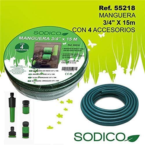 Sodico 55218 Manguera, Jardin: Amazon.es: Jardín