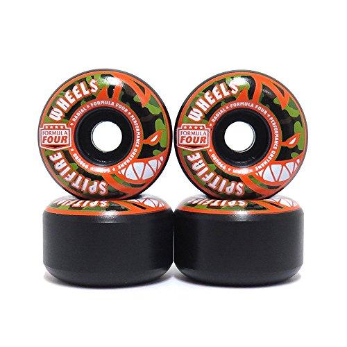 紳士消費する戻すSPITFIRE WHEEL スピットファイヤー ウィール FORMULA FOUR RADIALS 99D COVERT 黒 54mm スケートボード スケボー SKATEBOARD