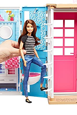 Barbie 2-Story House with Furniture & Accessories by Mattel