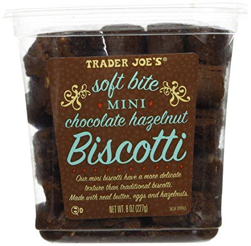 Trader Joe`s Soft Bite Mini Chocolate Hazelnut - Biscotti Chocolate