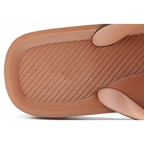 Da Europa Con Scarpe Xiaolin colore 04 Sandali formato Spessa Uniti Mare Antiscivolo Uomo Dimensioni Opzionale Stati Eu39 03 Suola Pantofole uk6 E Estate cn39 wz4FxPqwA