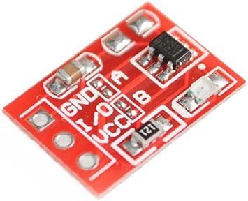 Demarkt Ttp223 Berührung Knopf Modul Selbstsichernd Elektronik