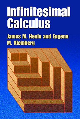Integral Stand (Infinitesimal Calculus (Dover Books on Mathematics))