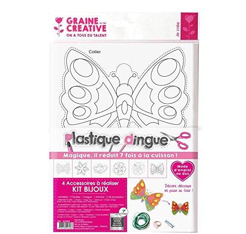 Shrink plastic kit - jewelry Graine créative 540306