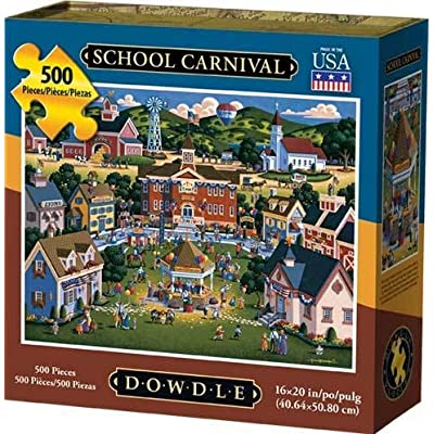 Dowdle Jigsaw Puzzle - School Carnival - 500 Piece: Toys & Games