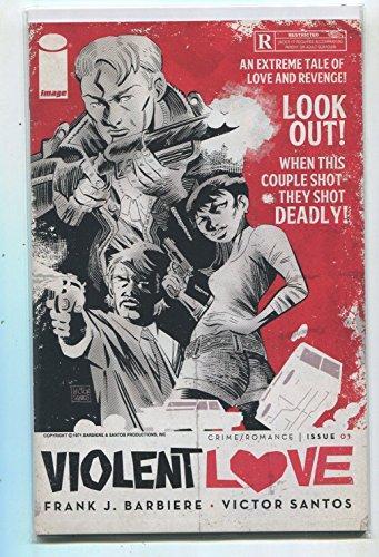 Violet Love #1 NM Cover B Crime/Romance Barbiere Santos Image Comics 7 ()
