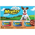Purina Mighty Dog Ground Wet Dog Food Variety Pack - (2 Packs of 12) 5.5 oz. Cans by Purina Mighty Dog