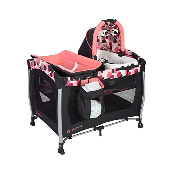 Baby Trend Resort Elite Nursery Center, Dotty