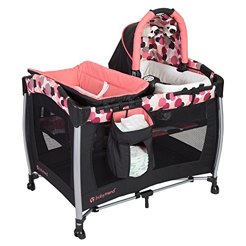 Baby Trend Resort Elite Nursery Center, Dotty by Baby Trend