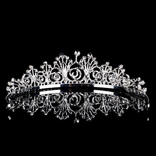 Topwedding diadème/serre-tête de mariage orné des faux diamants 140044