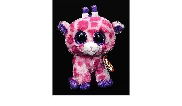 31c781141ca Amazon.com  New TY Beanie Boos Cute Twigs the pink giraffe Plush Toys 6    15cm Ty Plush Animals Big Eyes Eyed Stuffed Animal Soft Toys for Kids  Gifts  Baby