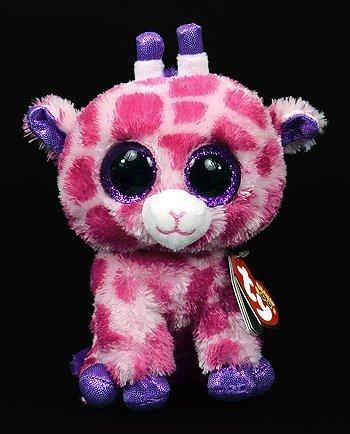 ebf875b3d55 New TY Beanie Boos Cute Twigs the pink giraffe Plush Toys 6   15cm Ty