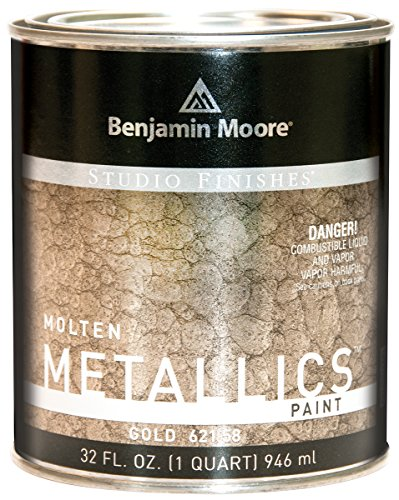 Studio Finishes Molten Metallics - Quart (Gold)