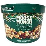 Harry & David Moose Munch Gourmet Popcorn 24 Oz Holiday Drum