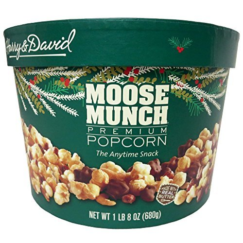 Moose Munch (Harry & David Moose Munch Gourmet Popcorn 24 Oz Holiday Drum)