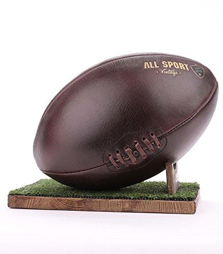 Ballon de Rugby - Chocolat, Green-Tee