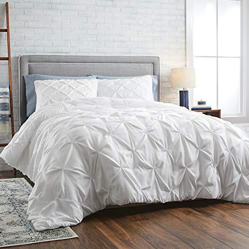 Better Homes & Gardens 3-Piece Pintuck Comforter Set, King, White from Better Homes & Gardens
