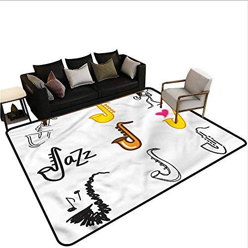 - Music,Dining Table Rugs 80