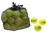 25 Golfbälle Champion - Farbe: gelb