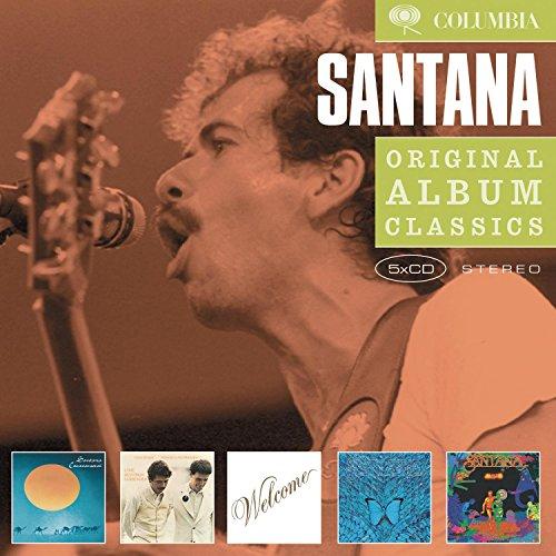 Santana: Caravanserai / Love Devotion Surrender / Welcome / Borboletta / Amigos by Santana