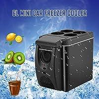 YQJJZX 6L Frigorífico de Coches, 12V Mini refrigerador congelador ...