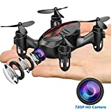 DROCON GD60 Mini Drone with 720P HD Camera, Headless Mode, 3D Flips & Rolls, 3 Speed Modes for Kids and Beginners