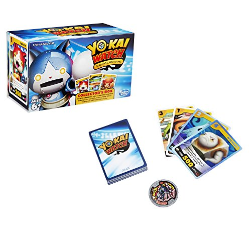 Yo kai watch trading card game collector 39 s box toys games for Sale de bain yo kai watch 2