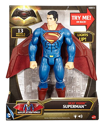 "Batman v Superman: Dawn of Justice Heat Vision Superman 12"" Deluxe Figure"