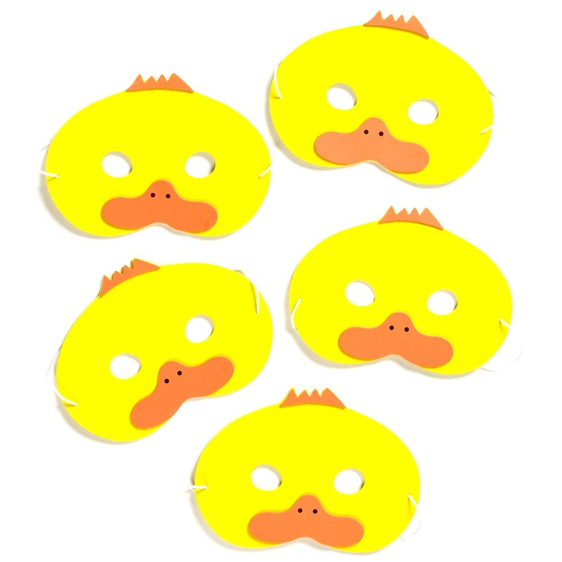 Teaching Resource Sack/ Mask//Headpiece /5/Little Ducks Song Mask Set