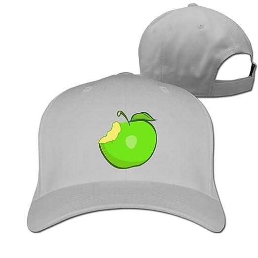Amazon.com  WHa12 Cap Apple Less Bite Womens Soft Sandwich Baseball ... 2659756045a