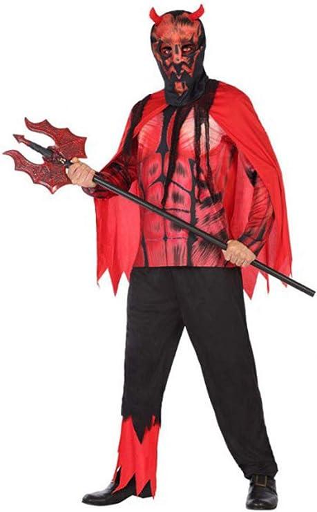 Atosa-55440 Atosa-55440-Disfraz Demonio para Hombre Adulto-Talla ...