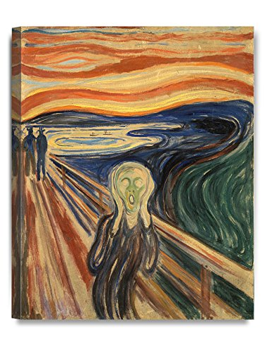 DecorArts - The Scream by Edvard Munch,  Print canvas art