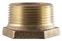 LDR 323 B-1418 Bushing, Low Lead, 1/4-Inch x 1/8-Inch, Brass
