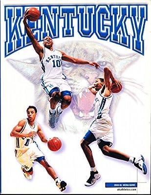 2000 - 2001 Kentucky basketball media press guide bkbx23
