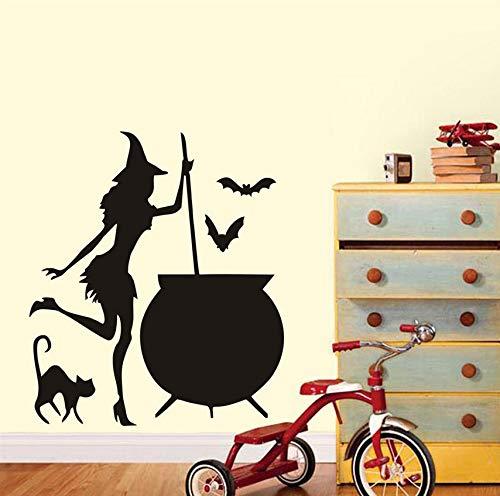 Hwhz Etiqueta De La Pared De La Bruja Hormiga De Halloween Poción ...