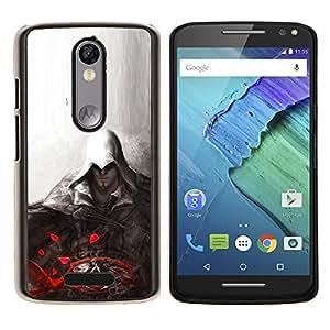 LECELL--Funda protectora / Cubierta / Piel For Motorola MOTO X3 3rd -- Asesino --