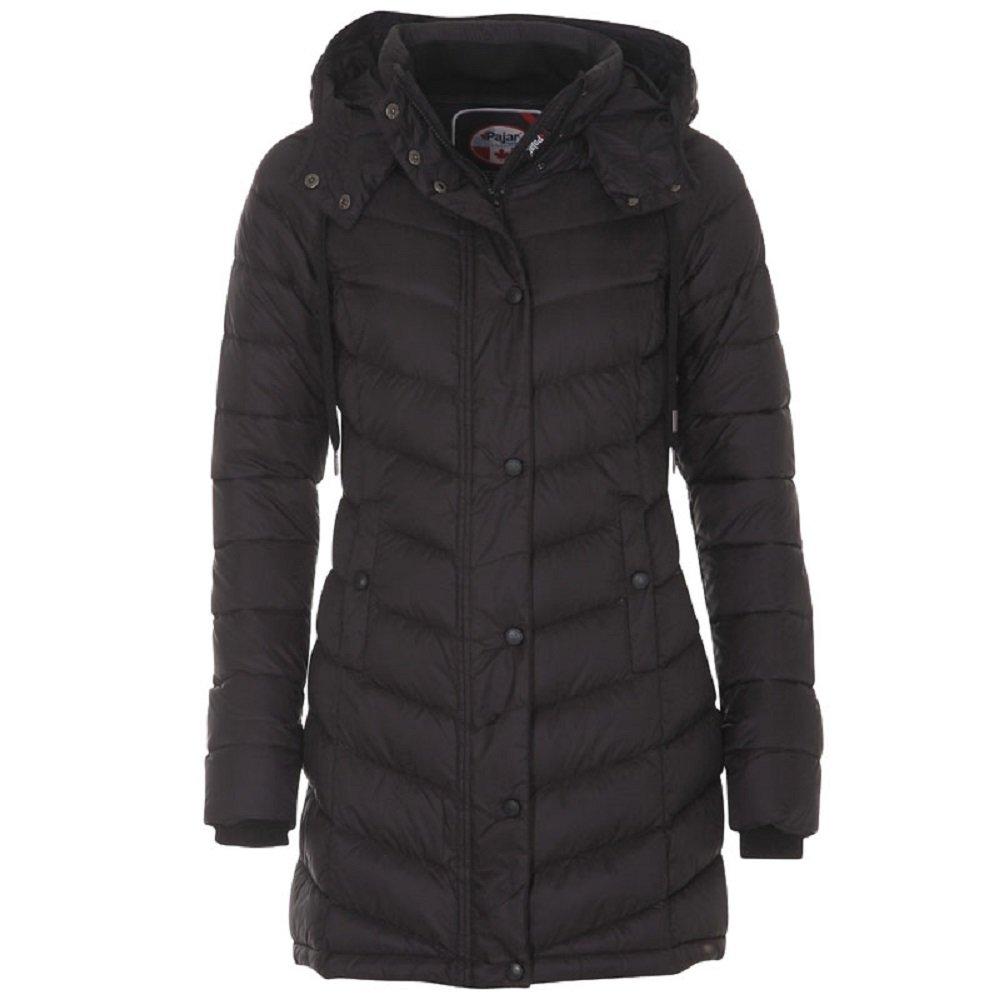Callie Long Womens Jet Black Pajar Canada Jacket (l)