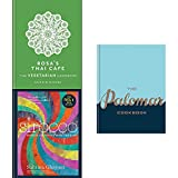Books : Sirocco rosa's thai cafe vegetarian cookbook and palomar cookbook 3 books collection set
