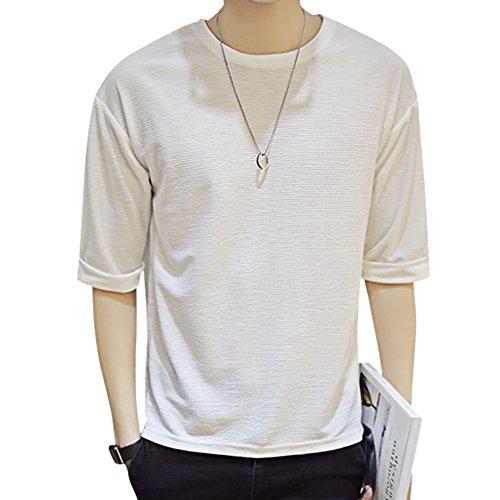 フリル解き明かす考古学者Goodid Tシャツ メンズ 長袖 五分袖 おしゃれ シンプル ゆったり カジュアル