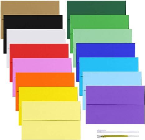 Amazon.com: Supla - Paquete de 90 sobres de invitación A9 de ...