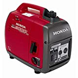 2000 Watt Portable Generator - Honda 2000-Watt Super Quiet Gasoline Powered Portable Companion Inverter Generator with Eco-Throttle and 30 Amp Outlet