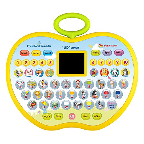 KIDTOY Presents for 1 Years Olds Kids, Educational Toy for 18-36 Months Girl Boy Toddler Computer Toys for 2-4 Year Old Girl Toy Gift Age 1 2 3 4 Boys Education Toy for 1-4 Year Old Baby -