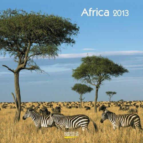 Africa 2013 Broschürenkalender