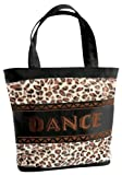 Emboidered Leopard Dance Bag Tote