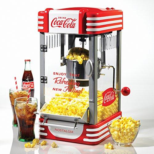 Nostalgia Electrics RKP630COKE Coca-Cola Series Kettle Popco