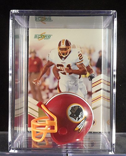 Sean Taylor Washington Redskins Trading Card & Mini-Helmet Display